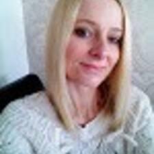 Kimberly felhasználói profilja