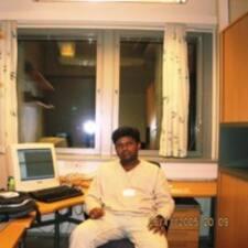 Perfil do usuário de Anand