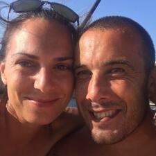 Användarprofil för Olivia & Mariano