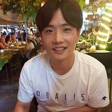 Henkilön Kyungyeon käyttäjäprofiili