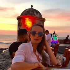 Eliana felhasználói profilja