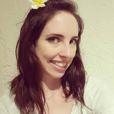 Marcie felhasználói profilja