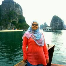 Profil utilisateur de Rashidah