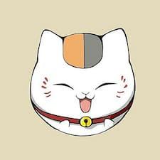 Kirito felhasználói profilja