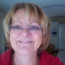 Nadine felhasználói profilja