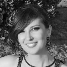 Alessia felhasználói profilja