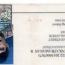 Venkatramanan User Profile