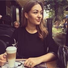 Daryna felhasználói profilja