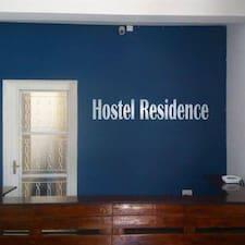 Hostel Residence User Profile