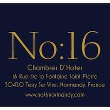 โพรไฟล์ผู้ใช้ No:16 Chambres D'Hotes