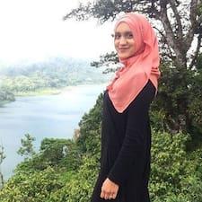 Profil utilisateur de Aamina