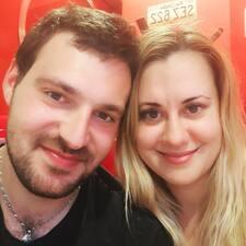 Monča felhasználói profilja