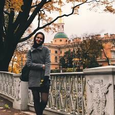 Anastasiya felhasználói profilja