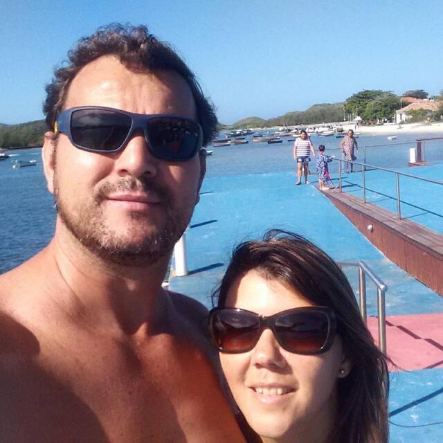 Guia de Mauricio e Maiza em Cabo Frio