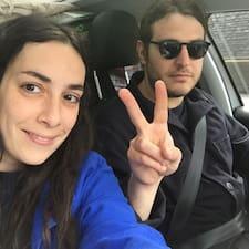 Användarprofil för Julie & François