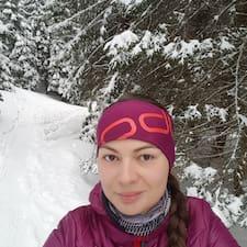 Barbora felhasználói profilja