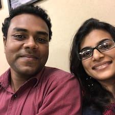 Aparna felhasználói profilja