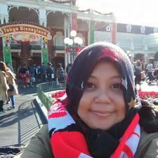 Nur Syahidah felhasználói profilja