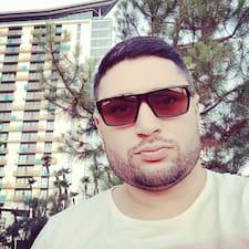 Henkilön Irakly käyttäjäprofiili