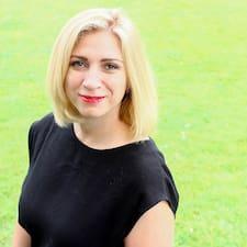 Edita - Uživatelský profil