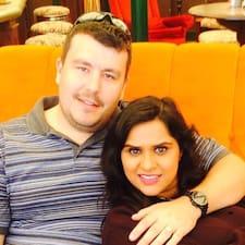 Profil Pengguna Chris & Jaiyna