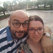 Användarprofil för Caterina & Vito