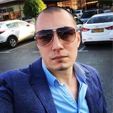 Henkilön Kirill käyttäjäprofiili