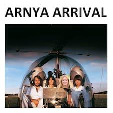 Arnya User Profile