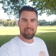 Gareth felhasználói profilja