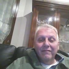 Antonio felhasználói profilja