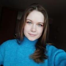 Henkilön Kseniya käyttäjäprofiili