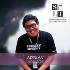 Lisätietoja majoittajasta Adrian Fong