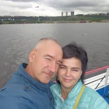 Gebruikersprofiel Сергей И Наталия