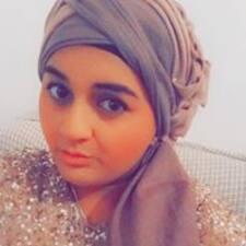 Khadija - Uživatelský profil
