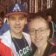 Profil Pengguna Sebastien & Anna