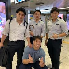 Perfil do usuário de Yutaro