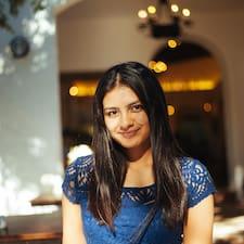 Priya felhasználói profilja