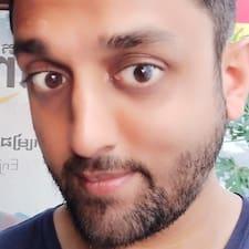 Henkilön Arjun käyttäjäprofiili
