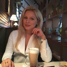 Henkilön Lyudmila käyttäjäprofiili