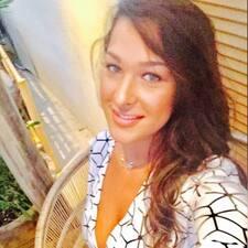Nicole felhasználói profilja