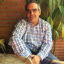 Henkilön José Luis käyttäjäprofiili