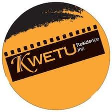 Perfil de usuario de Kwetu