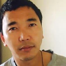 Henkilön Sangay käyttäjäprofiili