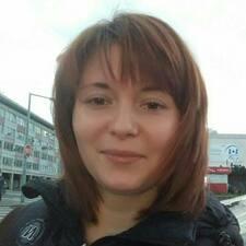 Jaroslava felhasználói profilja