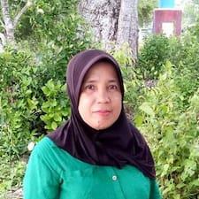 Profil utilisateur de Siti