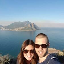 David & Vanessa felhasználói profilja
