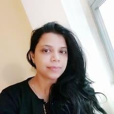 Amritara felhasználói profilja