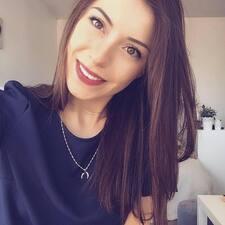 Elody felhasználói profilja