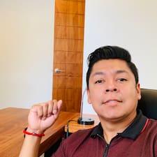 Gustavo felhasználói profilja
