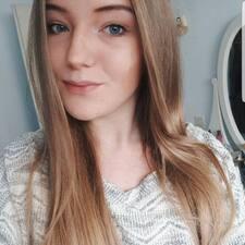 Maaike felhasználói profilja